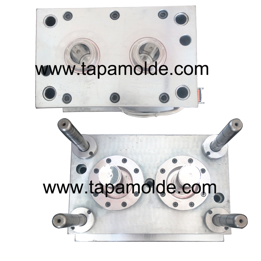 2 cavities pepper bottle mould  tube mould